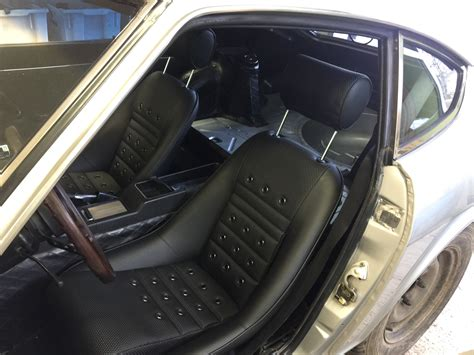 Datsun 240z Seats by New Seats And Floor Mats 240z Advice Interior The