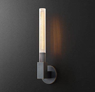 Rh Modern Bathroom Lighting by Rh Modern S Cannele Single Sconce The Form Of A Beaux Arts