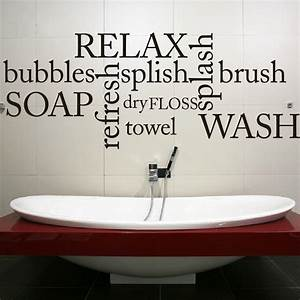 bathroom wall decal quote With bathroom wall decals