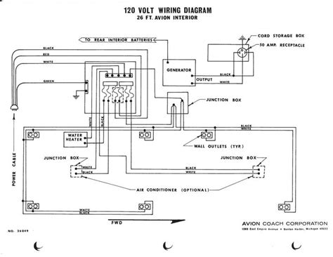 120 Volt Schematic Wiring by Avion 120 Vac Wiring Diagram