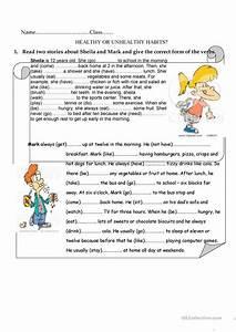All Worksheets » Good Habits For Kids Worksheets ...