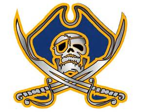 Crystal River High School Pirates Logo