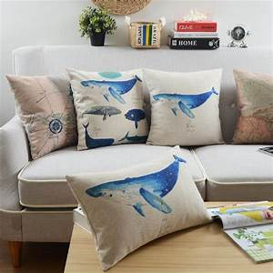 aliexpresscom buy mediterranean pillow ocean whale With buy my pillow in stores
