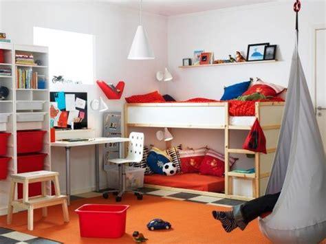 I Like The Shelf Above The Bed Ikea Room With Kura Bed