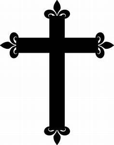 Fancy Cross Clip Art - ClipArt Best