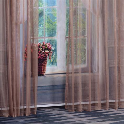 living room modern custom made sheer curtains