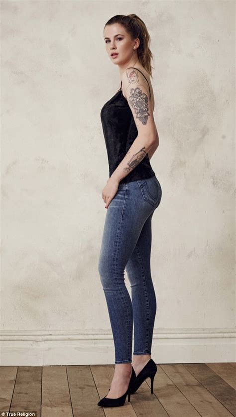 ireland baldwin shows  tattoos  topless ad  true