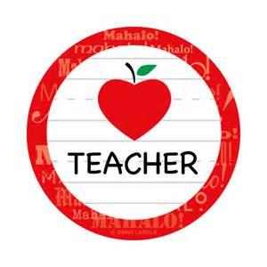 Teacher Apple Heart Clip Art