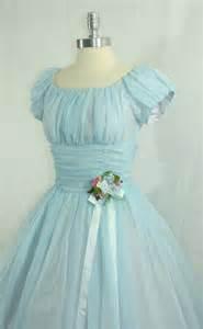 Vintage Baby Blue Wedding Dress