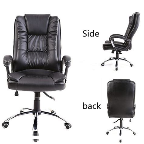 buy rocking office chair lift pu swivel chair us warehouse
