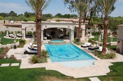 mediterranean style house plans outdoor symmetry when designing the landscape