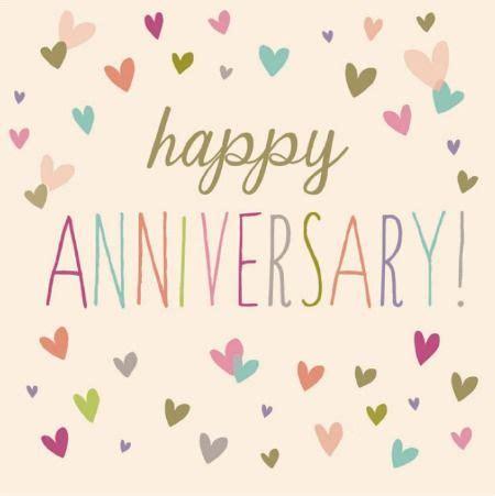 congratulations happy anniversary card  woodmansterne