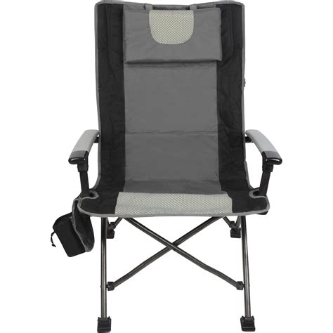 comfortable folding chairs outdoor high back folding chair with headrest set of 2