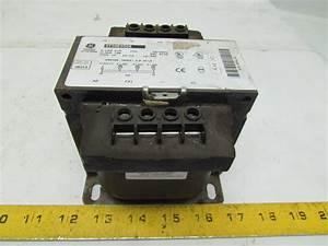 General Electric 9t58e0506 Transformer 0 25 Kva 200  400  480v Pri 120v Sec 1ph