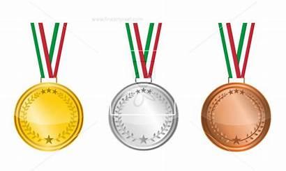 Blank Clipart Medal Medallion Clip Medals Vectors