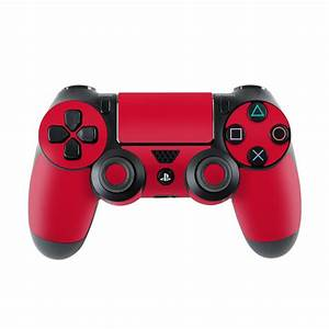 Solid State Red PlayStation 4 Controller Skin | iStyles