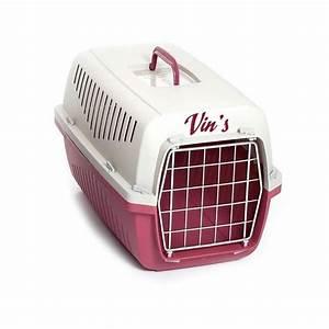Caisse De Transport Chat Gifi : caisse de transport personnalis e pour chien et chat ~ Dailycaller-alerts.com Idées de Décoration