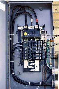 Electrical Panel Box Wiring Diagram