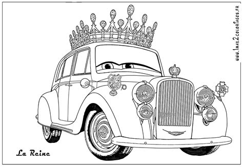 Coloring Page Cars 2
