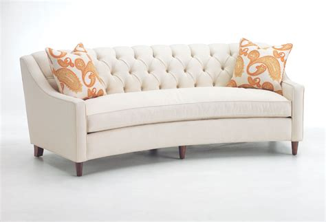 memphis curved sofa  polycloud seat diggs dwellings