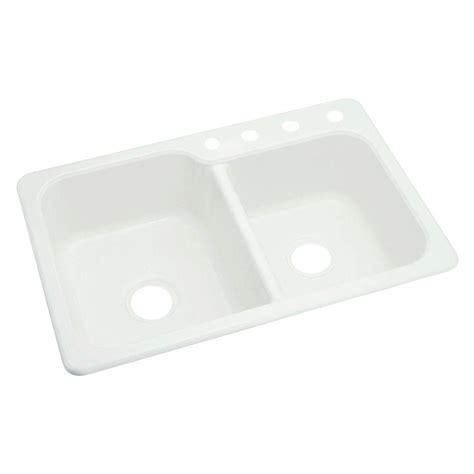 sterling kitchen sinks sterling maxeen self vikrell 33x22x8 3 8 4 2513