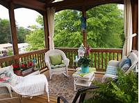 screened porch decorating ideas Screened Porch Decorating - A Cultivated Nest