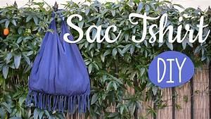 Comment Faire Un Sac : diy faire un sac avec un vieux t shirt et une paire de ciseaux youtube ~ Melissatoandfro.com Idées de Décoration