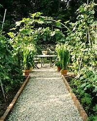 nice path and patio design ideas The Gravel Path - Outdoor Patio Design Ideas - Lonny
