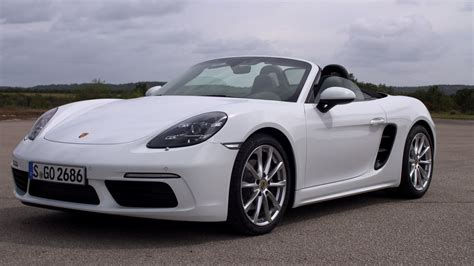 white porsche 2017 porsche 718 boxster white youtube