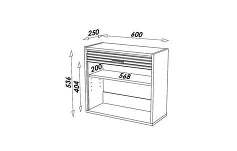 store meuble cuisine petit meuble de cuisine aluminium avec rideau déroulant 60