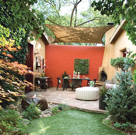 How To Turn An Outdoor 'space' Into An Outdoor 'room