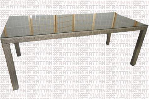 tavolo rattan sintetico giardino tavoli da giardino in rattan sintetico