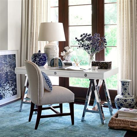 white desk with wood top mason wood top desk white williams sonoma