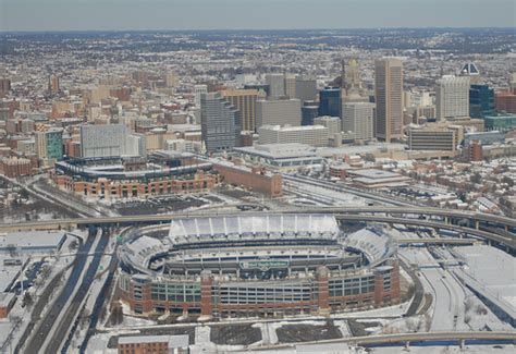 Ravens' Stadium and Camden Yards. | After the Storm... The ...