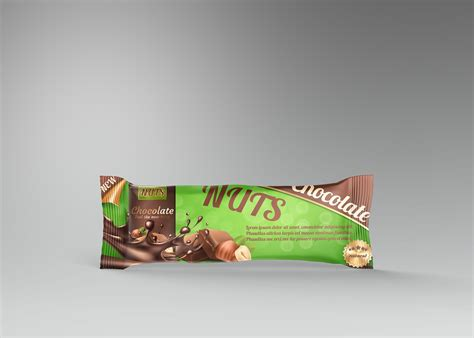 Free for personal and commercial use zip file includes: Protein Bar Chocolate Free PSD Mockup | Freemockup.net