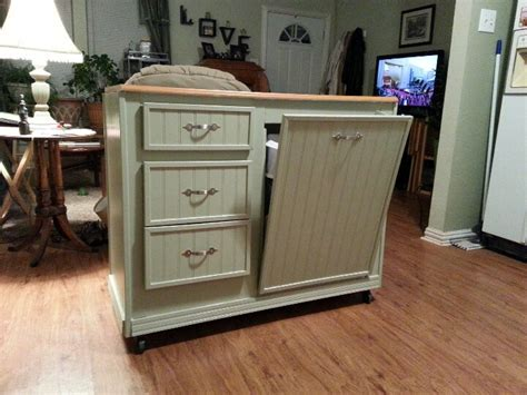 Kitchen Island Ideas Pinterest - kitchen island repurposed from a desk for the home pinterest repurposed desks and kitchens