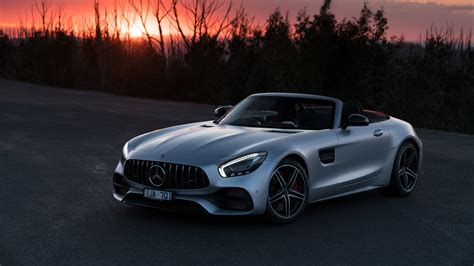 Mercedes Amg Gt 4k Wallpapers by Mercedes Amg Gt C Roadster 2018 4k 4 Wallpaper Hd Car