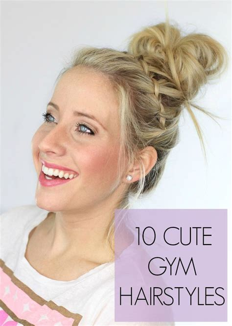 10 cute workout hairstyles hairstyles workout