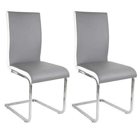 chaise cuir gris davaus chaise cuisine cuir gris avec des idées