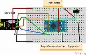 Wiring It My Way  Arduino Wireless Remote With 2 5ghz Nrf24l01