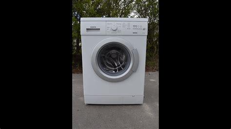siemens e14 4s waschmaschine waschmaschine siemens e14 16 umschau обзор стиральной машины для продажи