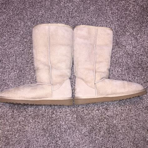 colored uggs 62 ugg shoes sand colored ugg boots from