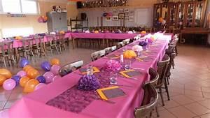 idee deco table anniversaire fashion designs With salle de bain design avec décoration anniversaire anniversaire 20 ans