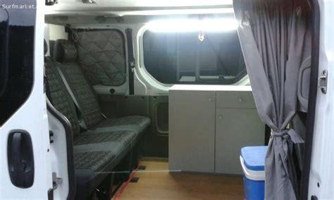 anuncios segunda mano furgonetas opel vivaro camper  lleida girona bacelona