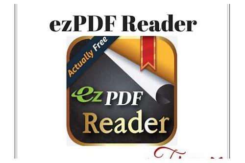 ezpdf reader pdf baixar gratuitos