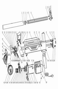 Sip 01967 5t Log Splitter Diagram