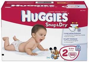 Amazon.com: Huggies Snug & Dry Diapers, Size 2, 100 Count ...