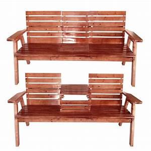 Kleine Holzbank Für Draußen : sitzbank 2 sitzer 3 sitzer mit tisch hochklappbar f r drau en zuhause garten neu ebay ~ Bigdaddyawards.com Haus und Dekorationen