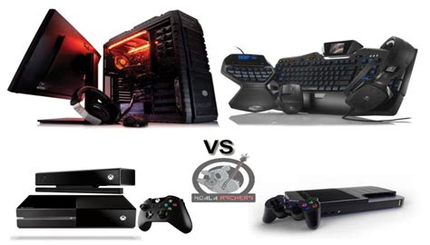 Pc Console by Console Gaming Vs Pc Gaming Vectech