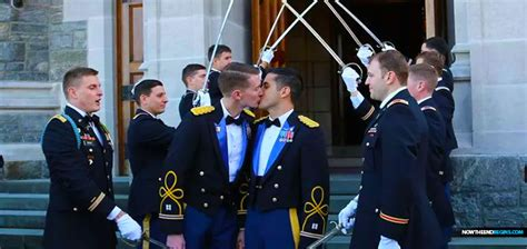 Military Academy West Point Holds Same Sex Marriage